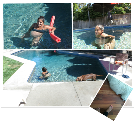 HBA2C, laboring in swimming pool, Home birth, vbac, transition, vba2c, rose homme, rosie posie baby